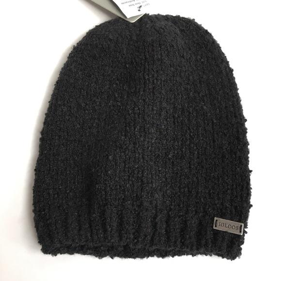 New Igloos Black Beanie Hat f07663732d03